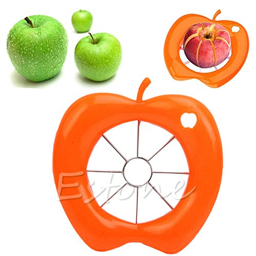 1 Piece Slicers - Kofun Stainless Steel Apple Cut, Hot Kitchen Apple Fruit Divider Slicer Wedge Cutter Pear Tool Comfort Corer Hand Colors Randomly 1 Piece