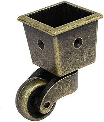 Tono Copa eDealMax 1 pulgada Diámetro de la rueda giratoria Plaza Caster Bronce Para la Tabla Presidente