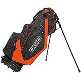 OGIO Men's Shredder Stand Bag, Griddle/Orange/Black, 36-Inch