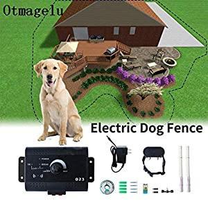 Underground Hidden Electronic pet Fence, Invisible Wire Enclosure System, Waterproof and Rechargeable Collar, Area-up to… Click on image for further info.