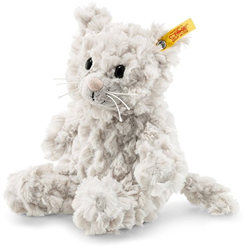 Steiff Whiskers Kitty Soft Cuddly Friend 7-inch Plush Animal Toy Steiff Cat
