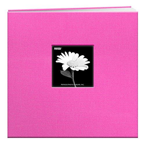 Pioneer Fabric Frame Post Bound Scrapbook 8.5X11-Sage Green