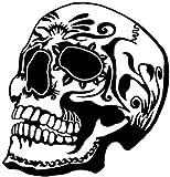 "Candy Skull { BLACK } PREMIUM Decal 5""   Dia de los"