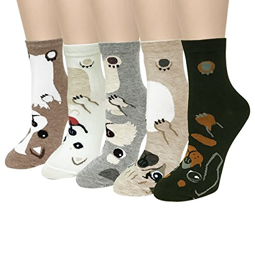 Wrapables Novelty Animal Print Socks