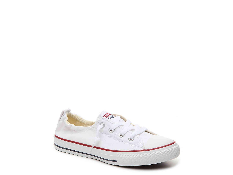 Converse Chuck Taylor All Star Shoreline White Lace-Up Sneaker - 8.5 B(M) US Women / 6.5 D(M) US Men