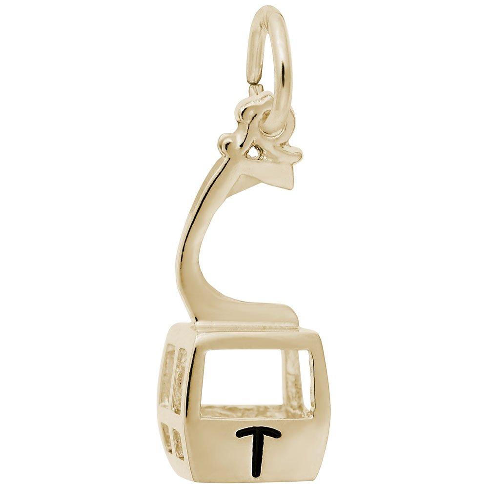 Charms for Bracelets and Necklaces Telluride Gondola W//Black Logo Charm