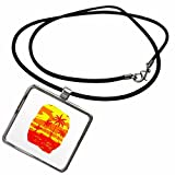 3dRose Susans Zoo Crew Beach - palms beach surfer red yellow - Necklace With Rectangle Pendant (ncl_178176_1) offers