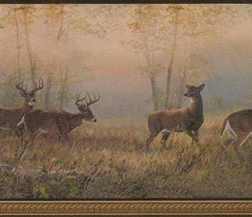 Bronze 418B272 Deer Wallpaper Border