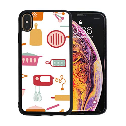 Kitchen Cooking Equipment Apple Phone Xs Max Case Screen Protector TPU Hard Cover with Thin Shockproof Bumper Protective Case for Apple Phone Xs Max 6.5 Inch