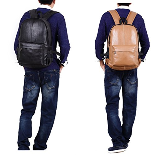 Fashion Shoulder Student Casual Leather Laidaye Bag 3 Men's Pu Shopping Travel 6pA6z