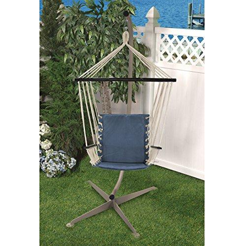 Bliss Hammocks THC-414DB Metro Hammock Chair, Denim Blue
