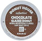 Donut House Collection Chocolate Glazed Donut Coffee Keurig K-Cup Pods, 18 count