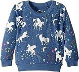 Chaser Kids Baby Girl's Extra Soft Love Knit Unicorn Pullover (Toddler/Little Kids) St. Tropez 6