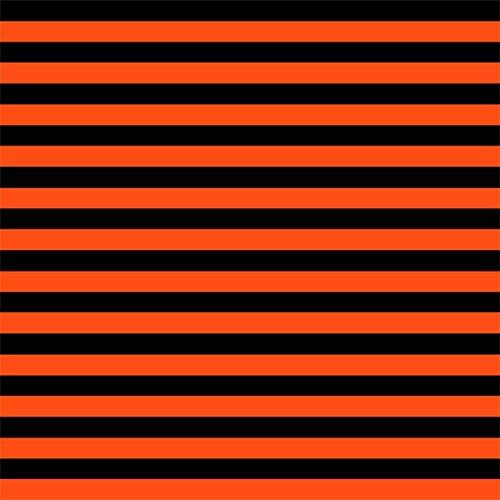 [Knit Black Orange 1/2