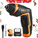 Best Cordless Drill Under 100s - Tacklife Cordless Rechargeable Screwdriver 3.6-Volt 2000mAh Li-ion MAX Review