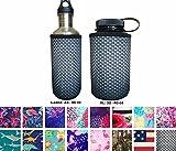 KOVERZ Neoprene 24-30 oz Water Bottle Insulator Cooler Coolie - Carbon Fiber