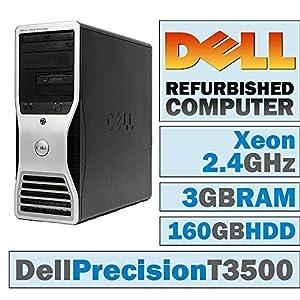 Dell Precision T3500 MT/Xeon W3503 @ 2.40 GHz/3GB DDR3/160GB HDD/DVD