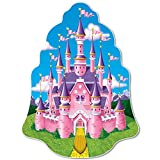 Beistle 57456 Princess Castle Wall Plaque Pack of 12