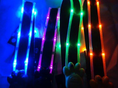 Ultra Light Me Up Dog Collar (Large, Blue LED), My Pet Supplies