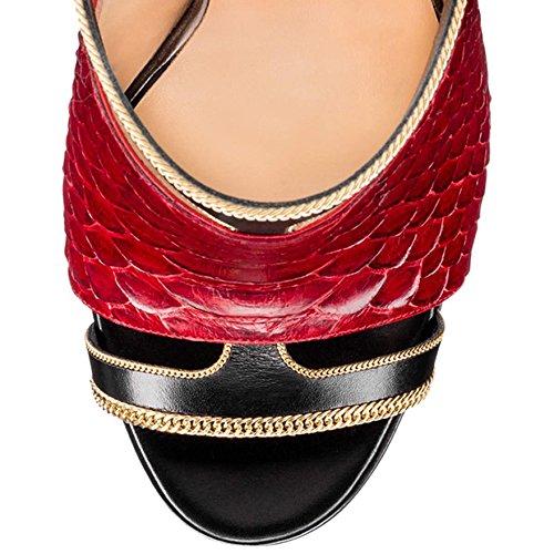 Amy nbsp;M Sandales Red Taille Femme Q pour BqBr4ax