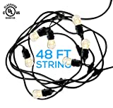 Hyperikon Outdoor Commercial String Light - Bulbs
