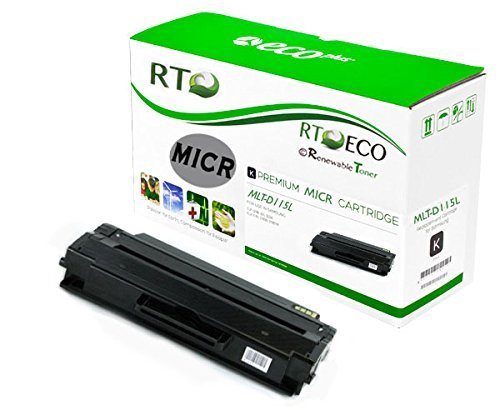 Renewable Toner Compatible MICR Toner Cartridge Replacement Samsung MLT-D115L for Xpress SL-M2880FW SL-M2830DW M2620 M2670 M2820 M2870