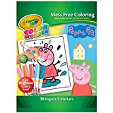 Peppa Pig Colour Wonder Set Mess Free Colouring by Crayola - 18 Pages & 5 Markers