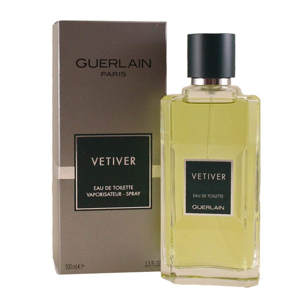 Guerlain Vetiver Men Eau-De-toilette Spray, 3.4-Ounce GURVETM0010002 41951417