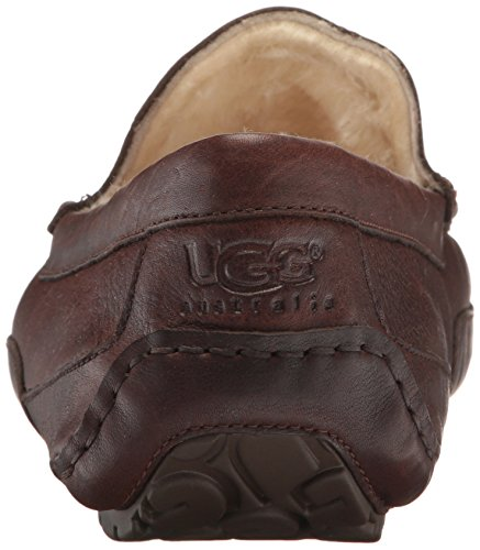 Ugg M Australia Leather Ascot 16 China Tea Slippers rwfnrvqg4