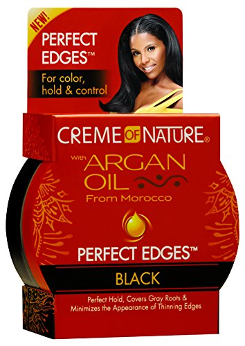 Control Creme - Creme of Nature Perfect Edges, Black, 2.25 Ounce