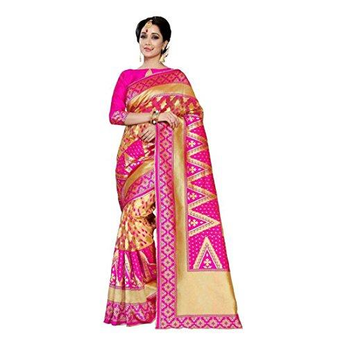 Print Art Litera Fashion Saree Floral Silk TwAtA5xSq