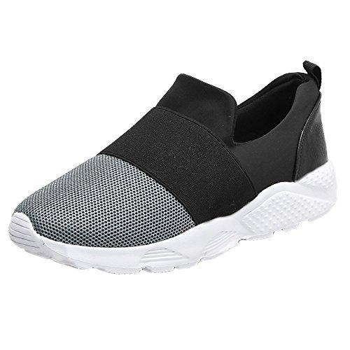 Mesh Securité EU Femmes Respirant Casual Chaussures Gris Flats Légères 39 de Chaussures 36 Sneakers Mode Course Chaussure GongzhuMM de Baskets g6qAxUgX