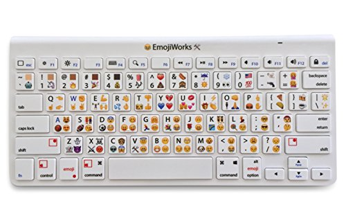 EmojiWorks Emoji Keyboard Pro Bluetooth Wireless Keyboard