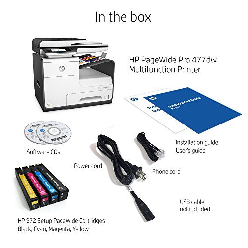 Hp Pagewide Pro 477dw Color Multifunction Business Printer
