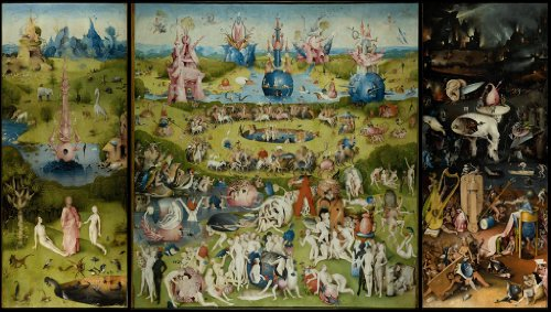 - Artifact Puzzles - Bosch Garden of Earthly Delights Wooden Jigsaw Puzzle