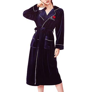 Vestido Suave De Las Señoras del Vestido De Terciopelo Cómodo ...