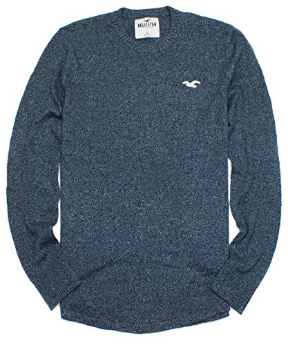 Hollister Men's Soft Knit Must Have Icon Sweater HOM-26 (Small, 0040-222) from Hollister Co..
