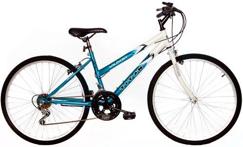 Titan Wildcat 12-Speed Women's Mountain Bike Blue/White