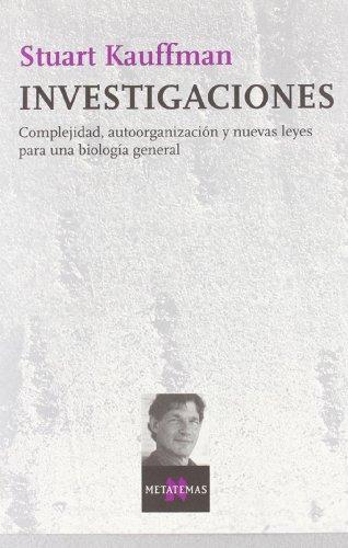Descargar Libro Investigaciones Stuart Kauffman