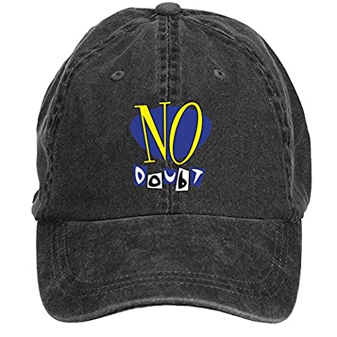XIULUAN No Doubt Band Logo Alternative Rock Cotton Washed Baseball Cap One Size ColorName Hats Cap (Saturn By Meade)