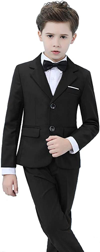 Yavakoor Boys Formal Wedding Slim Fit Suit Set Complete Outfit