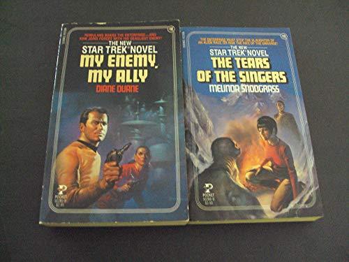 (2 Bks New Star Trek Novels # 19 and #19 First Prints Pocket PB)