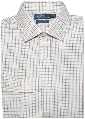 Polo Ralph Lauren para hombre Regent Classic Fit camisa cuadros blanco negro amarillo - Multi -: Amazon.es: Ropa y accesorios