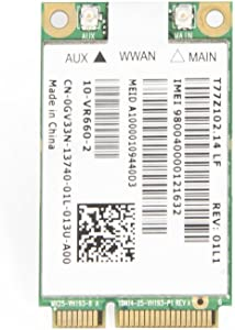 Dell Wireless Dw5620 5620 Gobi 2000 Wwan Gps Card 313-9362 Dkyd6 Unlocked