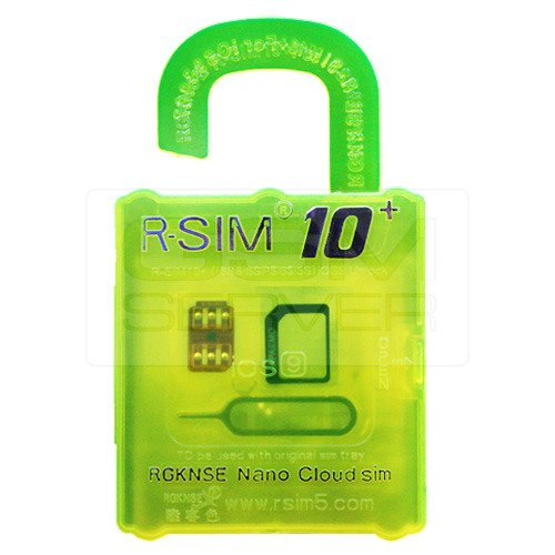 R-sim10 Plus for Iphone 6s, 6s Plus, 5, 5s, 5c, 4s Ios 9. 3g 4g Compatible with Almost Any GSM Carriers Worldwide
