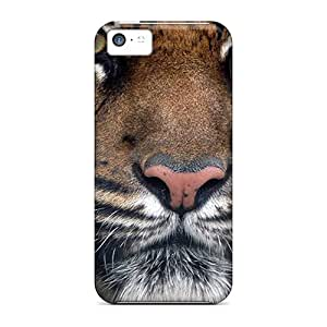 Iphone 5c Case Slim [ultra Fit] Bengal Tiger Face Protective Case Cover