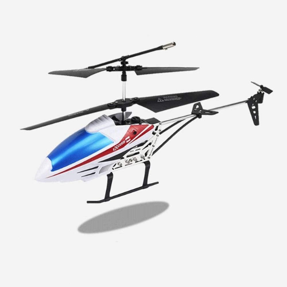 Zenghh RC Helicopter Drone Toy Multiplayer Game 3.5 by Charging and LED Lights Primary School boy Remote Control Aircraft Indoor Outdoor Landing Rocker Model gyro Super Preferred Gift