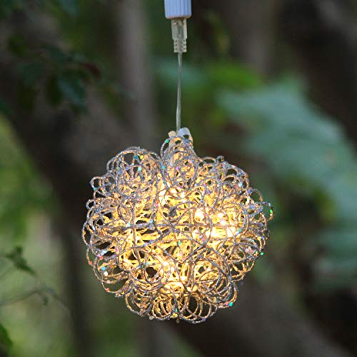 6 Light Wire Ball Pendant in US - 4