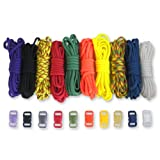 Paracord Planet Paracord Survival Bracelet Project Color Combo Kit with 100 Feet in