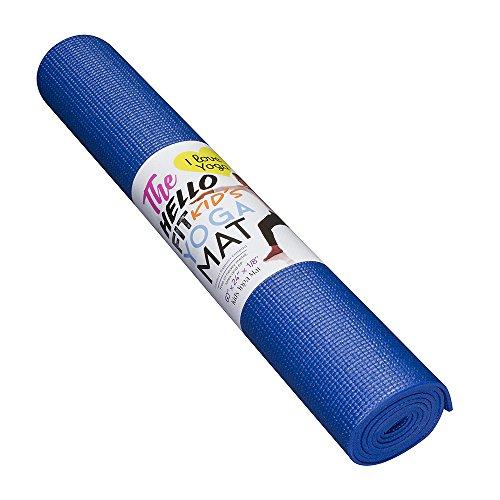 The Hello Fit Kid S Short Yoga Mat 60 Quot X 24 Quot X 1 8 Quot 4mm